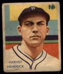 1935 Diamond Stars #41  Harvey Hendrick   Front Thumbnail