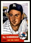 1953 Topps Archives #213  Ray Scarborough  Front Thumbnail