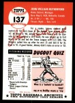 1953 Topps Archives #137  John Rutherford  Back Thumbnail