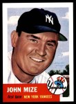 1953 Topps Archives #77  Johnny Mize  Front Thumbnail
