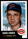 1953 Topps Archives #47  Bubba Church  Front Thumbnail