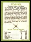 1963 Fleer #46  Joe Adcock  Back Thumbnail