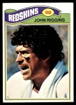 1977 Topps #55  John Riggins  Front Thumbnail