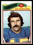 1977 Topps #57  Ray Wersching  Front Thumbnail