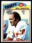 1977 Topps #58  Mike Livingston  Front Thumbnail