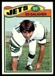 1977 Topps #63  Ed Galigher  Front Thumbnail