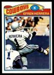 1977 Topps #102  Efren Herrera  Front Thumbnail