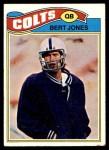 1977 Topps #95  Bert Jones  Front Thumbnail