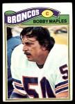1977 Topps #143  Bobby Maples  Front Thumbnail