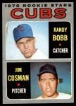 1970 Topps #429   -  Randy Bobb / Jim Cosman Cubs Rookies Front Thumbnail
