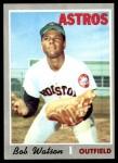 1970 Topps #407  Bob Watson  Front Thumbnail
