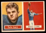 1957 Topps #68  Yale Lary  Front Thumbnail