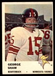 1961 Fleer #126  George Shaw  Front Thumbnail
