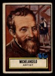1952 Topps Look 'N See #108  Michelangelo  Front Thumbnail
