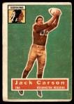 1956 Topps #1  Jack Carson  Front Thumbnail