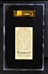 1912 T207  Peaches Graham    Back Thumbnail