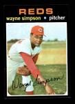 1971 Topps #339  Wayne Simpson  Front Thumbnail