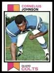 1973 Topps #314  Cornelius Johnson  Front Thumbnail