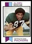 1973 Topps #318  Alden Roche  Front Thumbnail