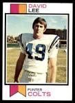 1973 Topps #404  David Lee  Front Thumbnail