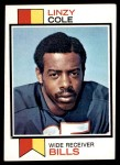 1973 Topps #449  Linzy Cole  Front Thumbnail