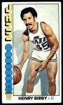 1976 Topps #36  Henry Bibby  Front Thumbnail
