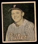 1951 Berk Ross #9 B Stan Lopata  Front Thumbnail