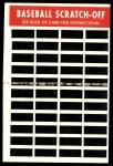 1970 Topps Scratch-Offs  Mack Jones     Back Thumbnail