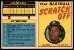 1970 Topps Scratch-Offs  Jim Wynn  Front Thumbnail