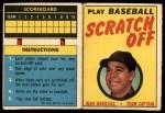 1970 Topps Scratch-Offs  Juan Marichal  Front Thumbnail