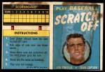 1970 Topps Scratch-Offs  Lou Piniella  Front Thumbnail