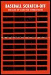 1971 Topps Scratch-Offs  Harmon Killebrew   Back Thumbnail