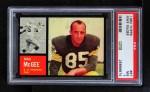1962 Topps #67  Max McGee  Front Thumbnail