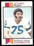 1973 Topps #216  Jethro Pugh  Front Thumbnail
