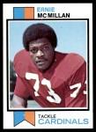 1973 Topps #488  Ernie McMillan  Front Thumbnail