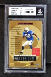 1996 Upper Deck #18  Marvin Harrison  Back Thumbnail