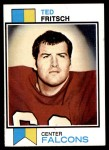1973 Topps #223  Ted Fritsch Jr.  Front Thumbnail