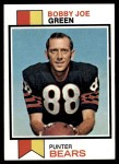 1973 Topps #377  Bobby Joe Green  Front Thumbnail