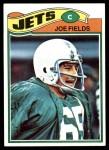 1977 Topps #398  Joe Fields  Front Thumbnail