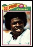 1977 Topps #336  Jeris White  Front Thumbnail