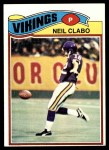 1977 Topps #477  Neil Clabo  Front Thumbnail