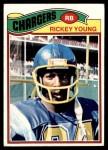 1977 Topps #384  Rickey Young  Front Thumbnail