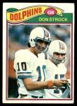 1977 Topps #413  Don Strock  Front Thumbnail