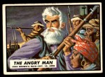 1962 Topps Civil War News #1   The Angry Man Front Thumbnail