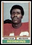 1974 Topps #510  Charlie Taylor  Front Thumbnail