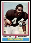 1974 Topps #350  Leroy Kelly  Front Thumbnail