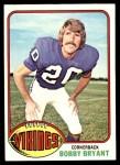 1976 Topps #11  Bobby Bryant  Front Thumbnail