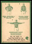 1966 Philadelphia #196   NFL Signals Back Thumbnail