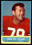 1963 Topps #140  Bob St. Clair  Front Thumbnail
