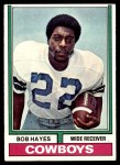 1974 Topps #28 ONE Bob Hayes  Front Thumbnail